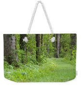 Path To The Green Forest Weekender Tote Bag