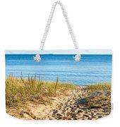 Path To The Lake Superior Beach Weekender Tote Bag