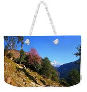 Path To The Mountains Weekender Tote Bag by FireFlux Studios