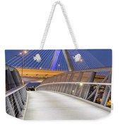 Path To The Zakim Bridge Weekender Tote Bag
