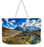 Path To Torres Del Paine Weekender Tote Bag