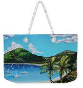 Path To White Bay  Weekender Tote Bag
