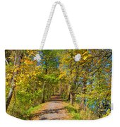 Pathway Along The Ohio And Erie Canal  Weekender Tote Bag