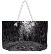 Pathway Through A Bamboo Forest Maui Hawaii Weekender Tote Bag