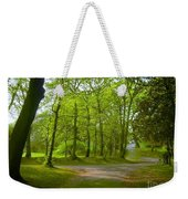 Pathway Through The Trees Weekender Tote Bag