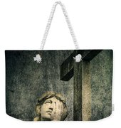 Patience In Pain Weekender Tote Bag by Andrew Paranavitana