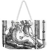 Patient And Nurse, 1646 Weekender Tote Bag