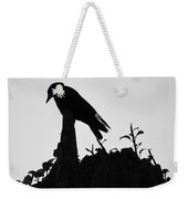 Patient Worm Weekender Tote Bag