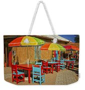 Patio Old Town Albuquerque New Mexico Dsc08203 Weekender Tote Bag