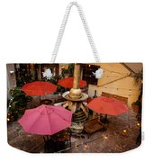 Patio Unbrellas Weekender Tote Bag