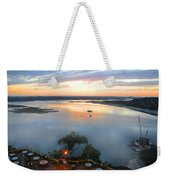Patio With A View  Weekender Tote Bag