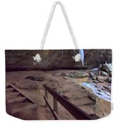 Pato To Ash Cave In Winter Weekender Tote Bag