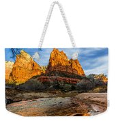 Patriarchs Of Zion Weekender Tote Bag by Chad Dutson