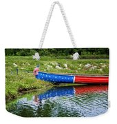 Patriotic Canoe #1 Weekender Tote Bag