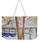 Patriotic Cottage Weekender Tote Bag