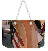 Patriotic Hotdog Weekender Tote Bag