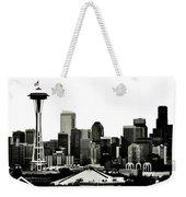 Patriotic Seattle Weekender Tote Bag