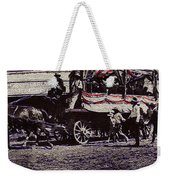 Patriotic Wagon Stone And Congress Tucson Arizona C.1900 Restored Color Texture Added 2008 Weekender Tote Bag