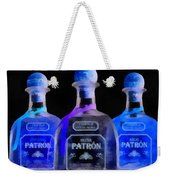 Patron Tequila Black Light Weekender Tote Bag