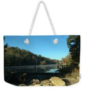 Patsiliga Creek Lake Weekender Tote Bag
