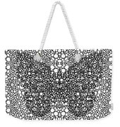 Pattern 35 - Intricate Exquisite Butterfly Pattern Art Prints Weekender Tote Bag