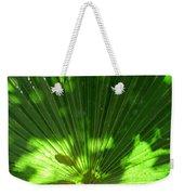 Green Plant Pattern Weekender Tote Bag