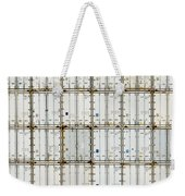 Pattern Of Shipping Container Stack At Depot Weekender Tote Bag
