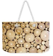 Pattern Of The Wood Pieces Weekender Tote Bag
