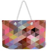 Pattern Of Triangle Weekender Tote Bag