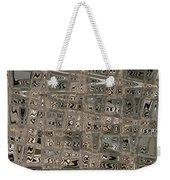 Patterned Ripples Weekender Tote Bag