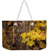 Patterns Of Fall Weekender Tote Bag