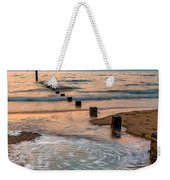 Patterns On The Beach  Weekender Tote Bag
