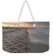 Patterns On Venice Beach Weekender Tote Bag