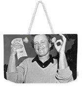 Patty Berg Shoots A 64 Weekender Tote Bag