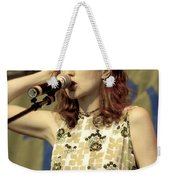 Patty Griffith Weekender Tote Bag