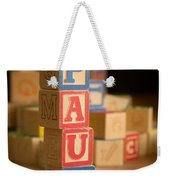Paul - Alphabet Blocks Weekender Tote Bag