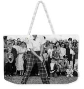 Paul Hahn Golf Stunt Shot Weekender Tote Bag