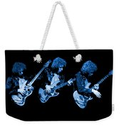 Paul Harwood Of Mahogany Rush Plays The Blues Weekender Tote Bag