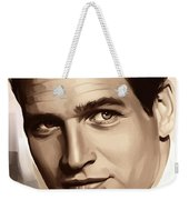 Paul Newman Artwork 1 Weekender Tote Bag