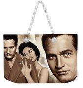 Paul Newman Artwork 2 Weekender Tote Bag