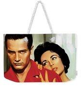 Paul Newman Artwork 3 Weekender Tote Bag