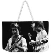 Paul And Mick In Spokane 1977 Weekender Tote Bag