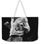 Paul Rocks Steady In Spokane In 1977 Weekender Tote Bag