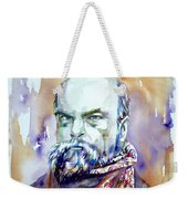 Paul Verlaine - Watercolor Portrait.1 Weekender Tote Bag