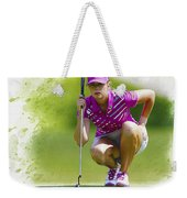 Paula Creamer Lines Up Her Putt Weekender Tote Bag
