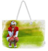 Paula Creamer - The Ricoh Women British Open Weekender Tote Bag