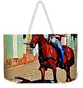 Pausing For The Tourists  Weekender Tote Bag