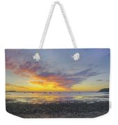 Pavilion Sunrise Weekender Tote Bag