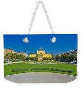 Pavillion In Green Park Of Zagreb Weekender Tote Bag