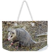 Pawing Possum Weekender Tote Bag